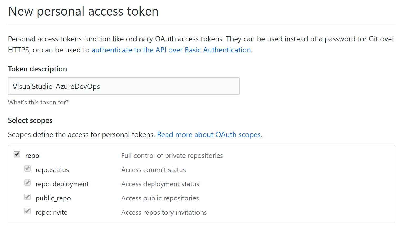 CD GitHub Token image