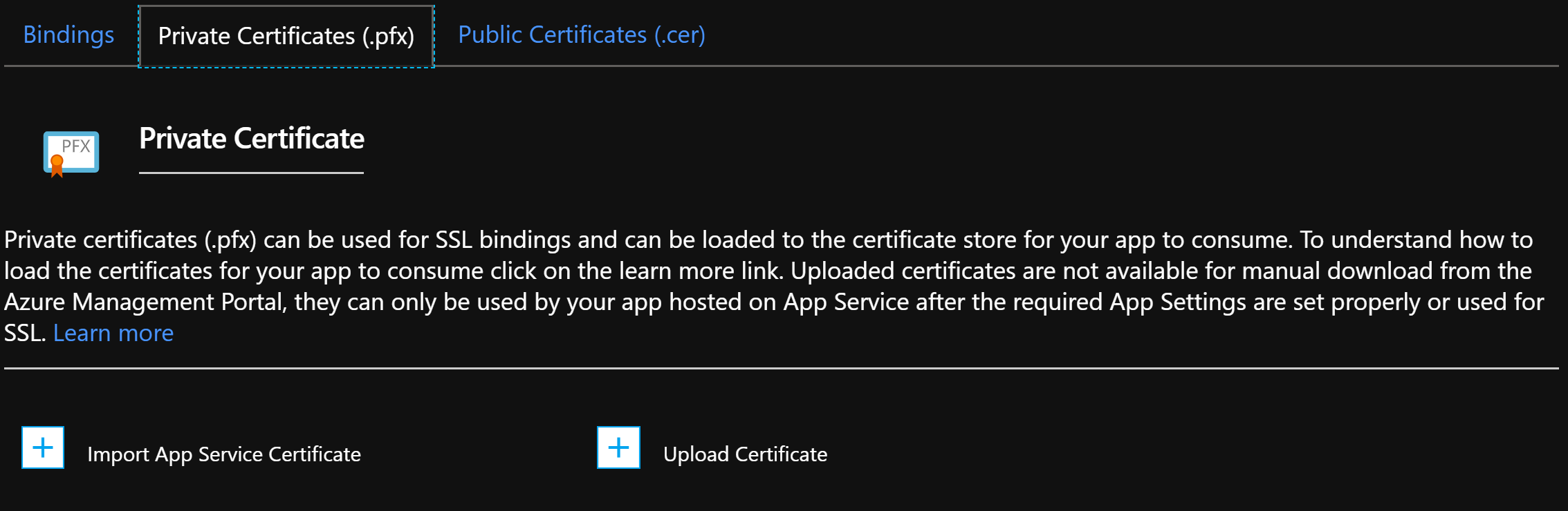 Letsencrypt Ssl Cert Azure Web Apps Conor Tolan Principal