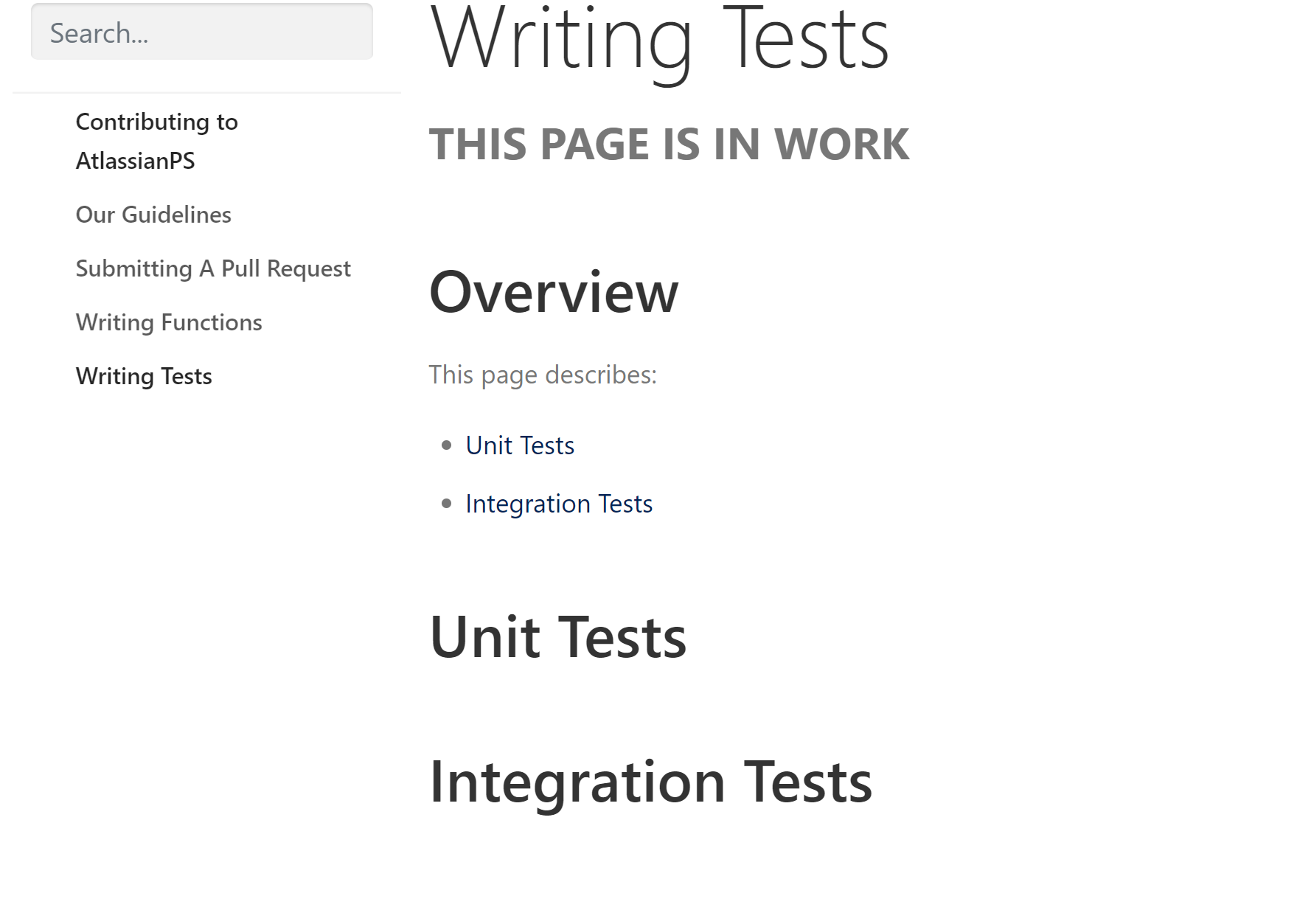 JIRA writing tests image