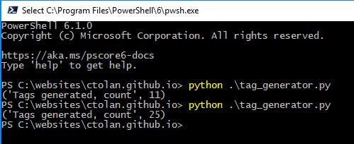 Python Tag Generation Image